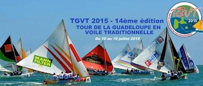 Tour de la Guadeloupe en voile traditionnelle