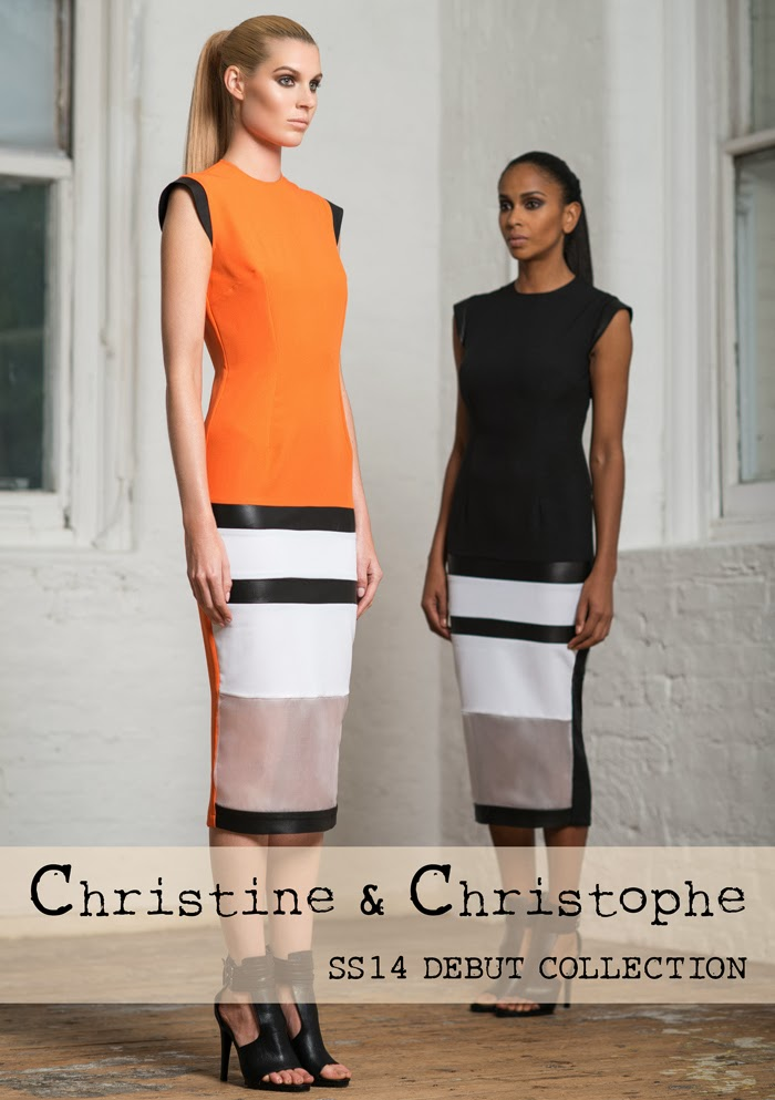 CHRISTINE & CHRISTOPHE SS14 Debut Collection
