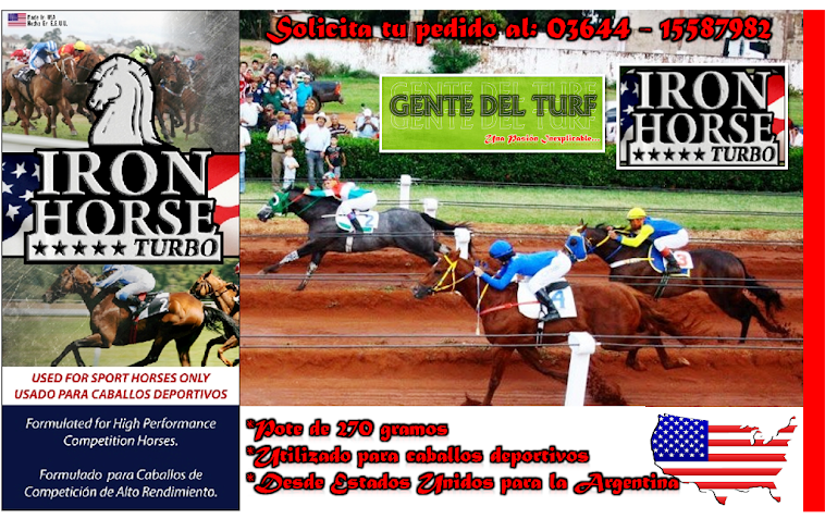 Iron Horse Turbo Producto Veterinario