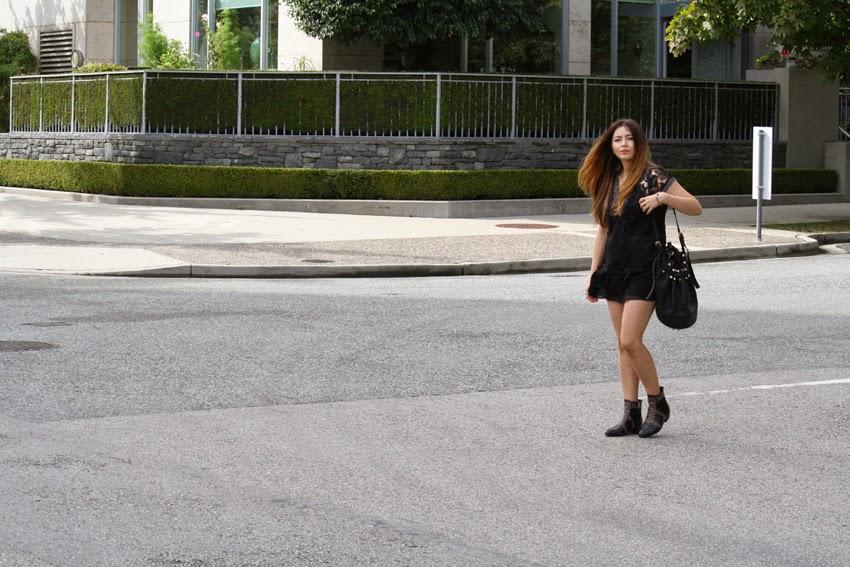 Alexander Wang, Anine Bing, Zara, Choies, Street Style, Vancouver