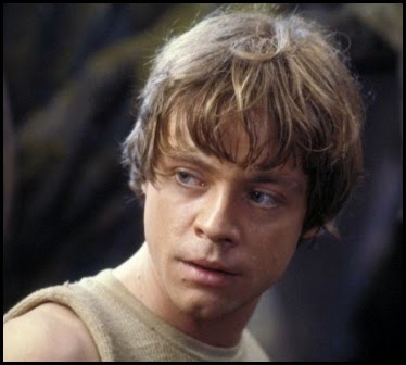 "Luke Skywalker en ""El imperio contraataca"" (1980)"