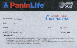 Kartu Asuransi Paninlife