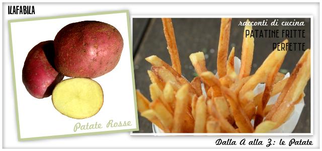 Patate Rosse - Patatine Fritte Perfette - Racconti di Cucina