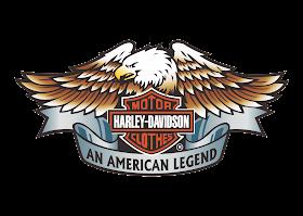 Logo Harley Davidson Motor Clothes Vector