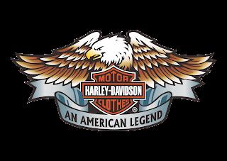 Harley Davidson Motor Clothes Logo Vector