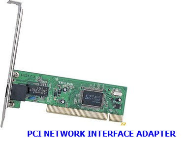 Network Adapters on System S Peripheral Component Interconnect Pci Pc Card Or Industry