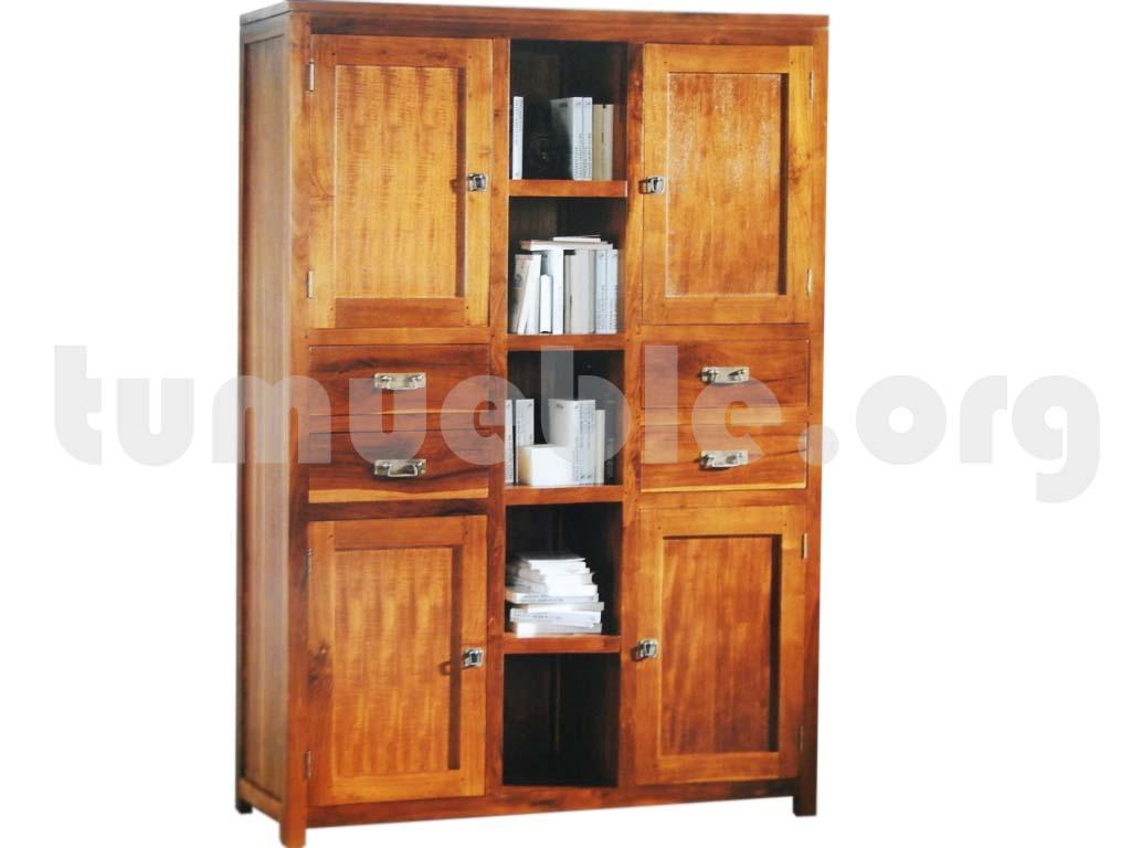 Tumueble outlet muebles de rattan y muebles de teca for Muebles teca colonial