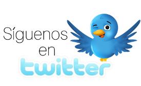 Sígenos en twitter