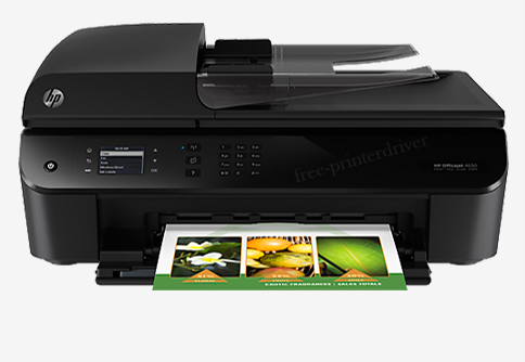 Drivers HP Printer Officejet 4630 Series Download For Windows