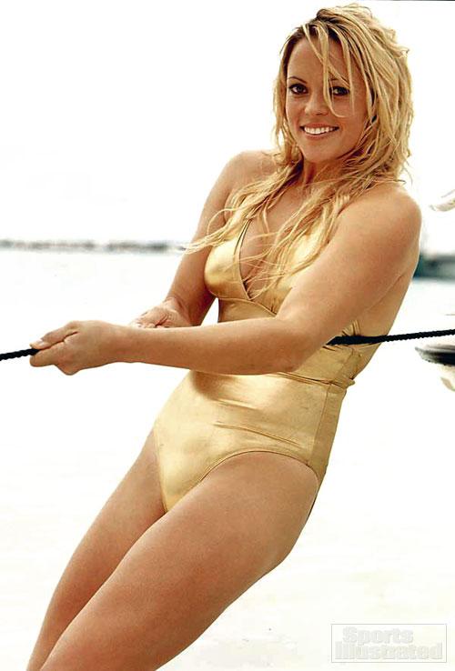Jennie Finch en bikini