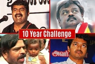 ARASIYAL VERSION | 10YearChallenge | Seeman | Vijay | Rajinikanth | T.Rajendar