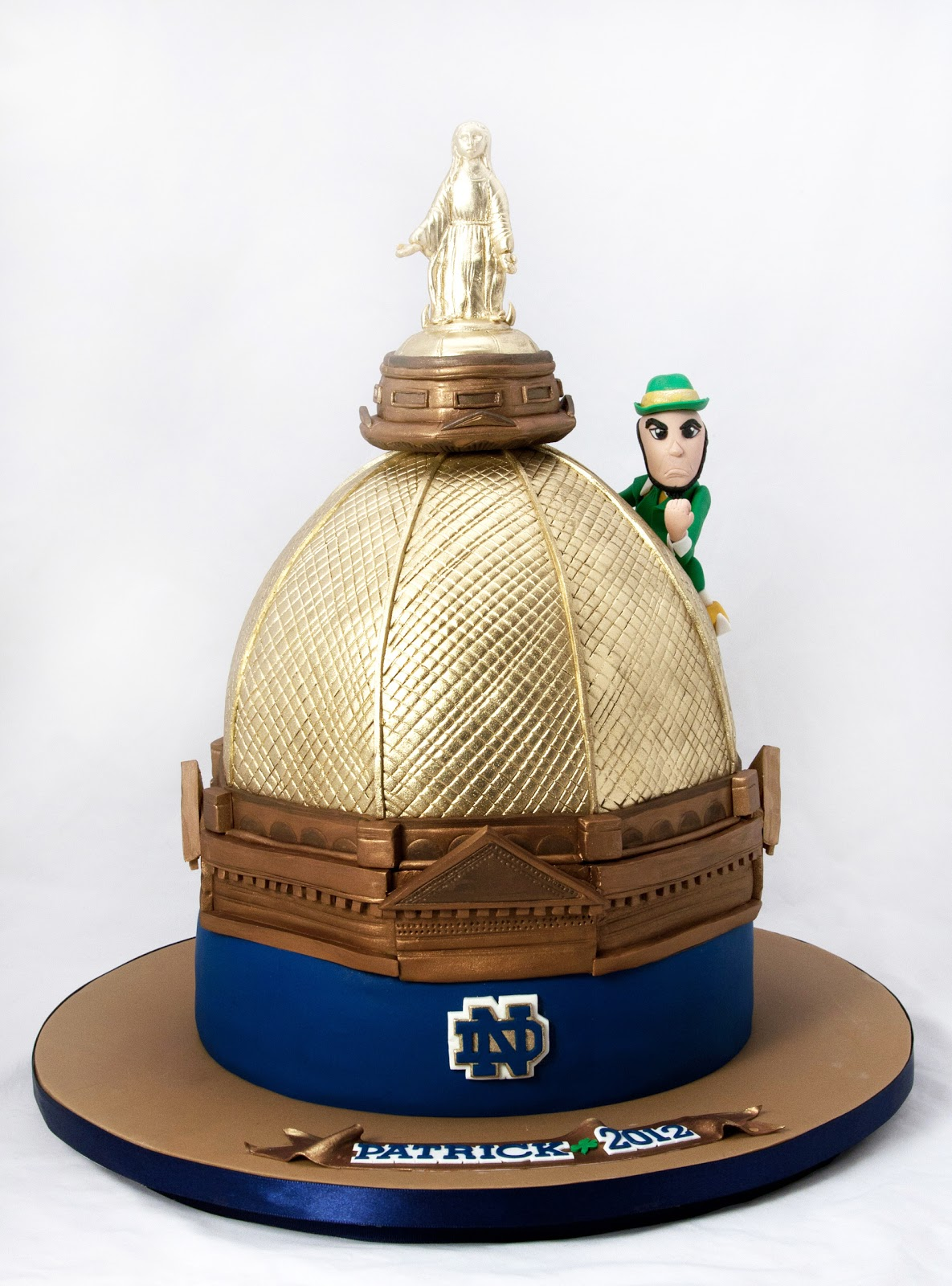 Pin Notre Dame College Football Sports Grooms Cake Wedding