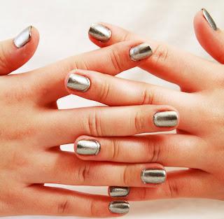 Silver Laquier OPI