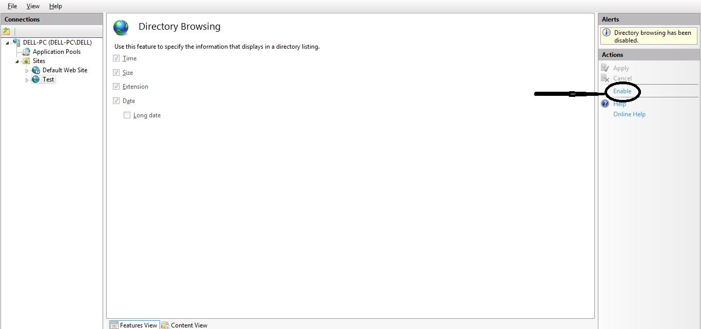 HTTP Error 403.14 - Forbidden The Web server is configured ...