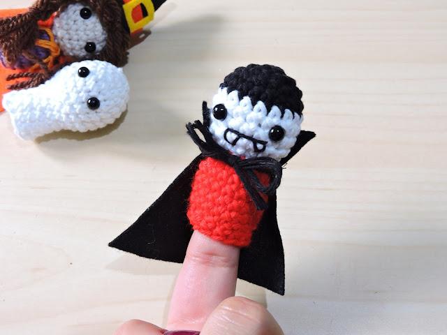 vampiro amigurumi halloween