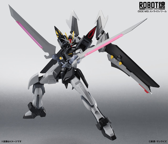 Upcoming Robot Damashii Strike Noir Gundam