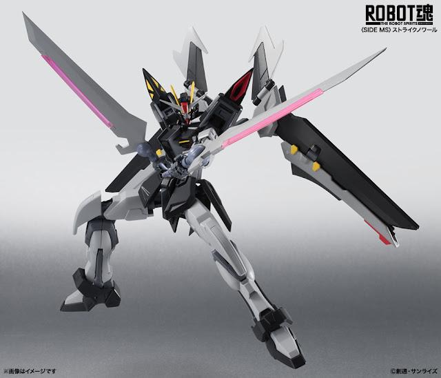 Upcoming Robot Damashii Strike Noir Gundam