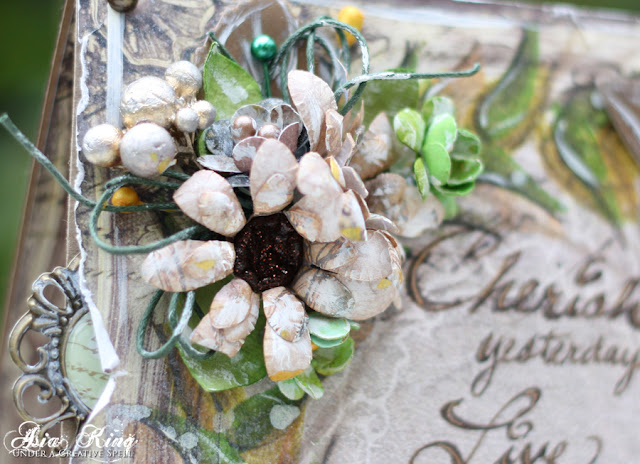 DIY handmade flower centers
