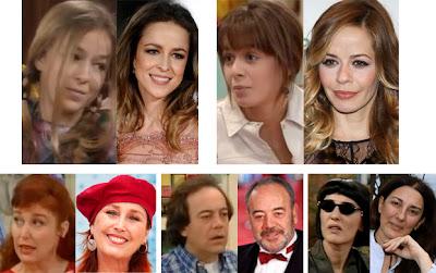Verónica Forqué, Tito Valverde, María Adánez, Silvia Abascal, Isabel Ordaz