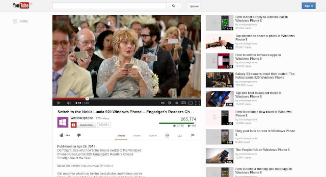 Is it Microsoft-Windows Nokia Lumia versus Apple versus Samsung? Big gun jabs each other like toddlers?!