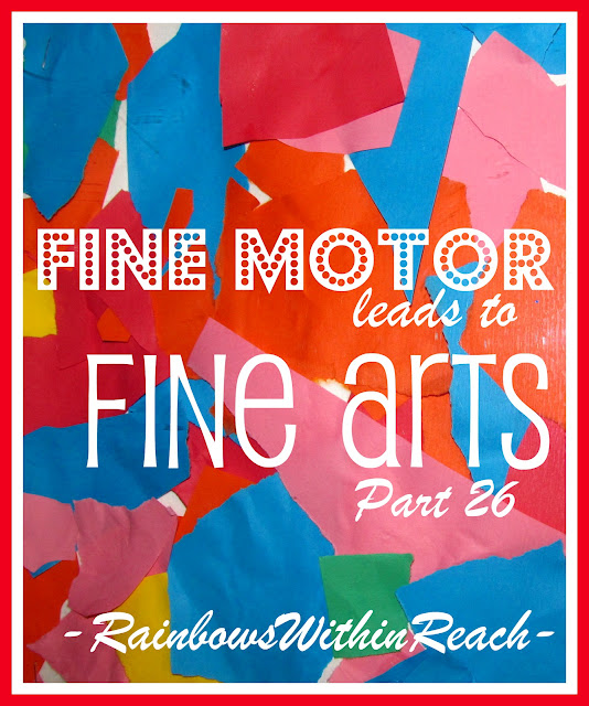 photo of: Fine Motor Leads to Fine Arts, Part 26 via RainbowsWIthinReach