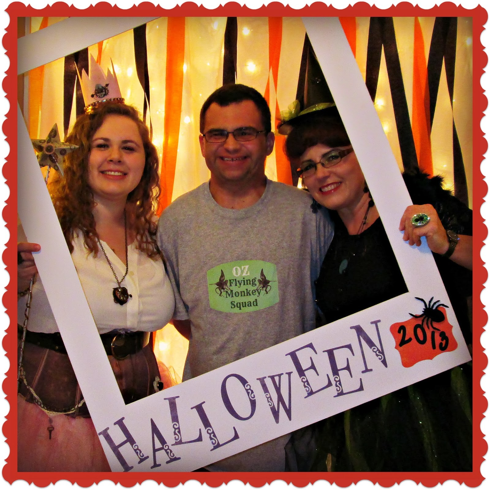 Crafty in Crosby: Halloween Party 2013 - Photo Booth Fun!