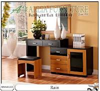 Meja make up rias minimalis modern Rain