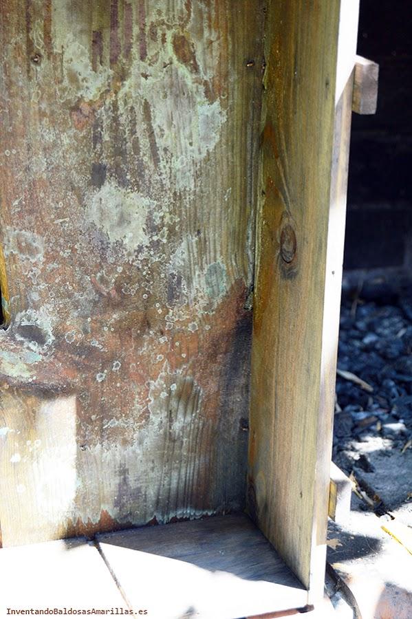 oxidar cajas muebles diy