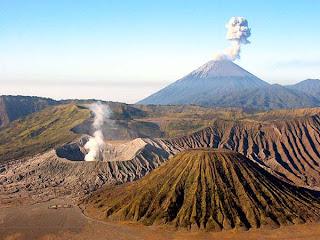 mengenal gunung berapi