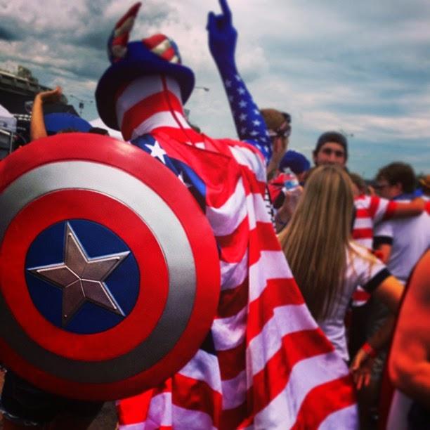 Team USA fan