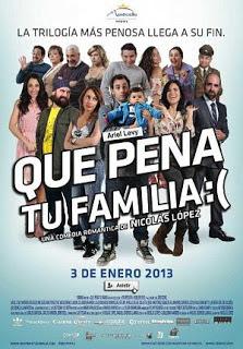 Que pena tu familia (2012) Online pelicula online gratis