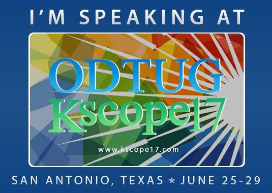 ODTUG Kscope 2017