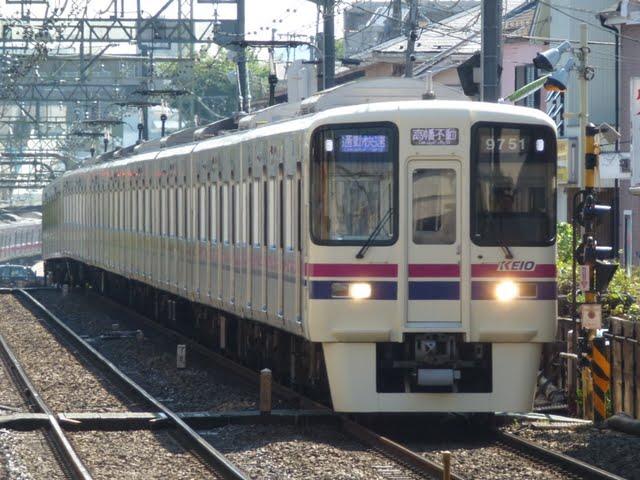 京王電鉄 通勤快速 高幡不動行き3 9000系+7000系(節電ダイヤに伴う運行)