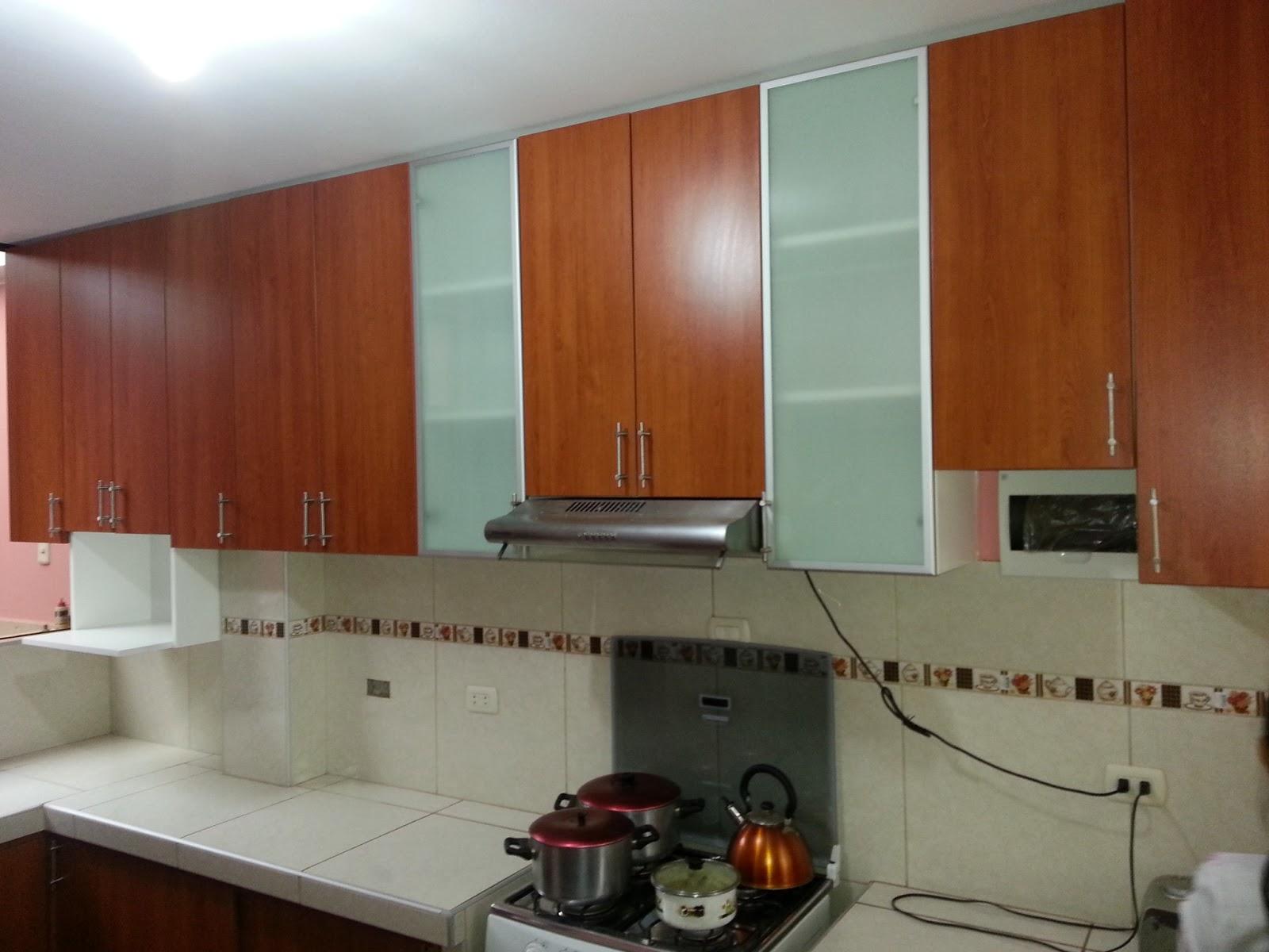 Artecarpinteros for Gabinetes de cocina en melamina