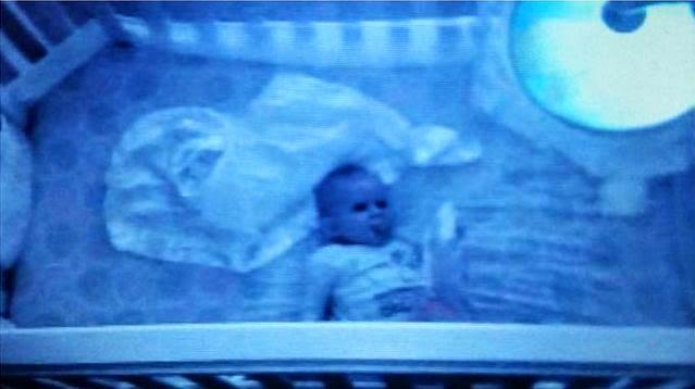 Espeluznantes imágenes captadas por monitores de bebés