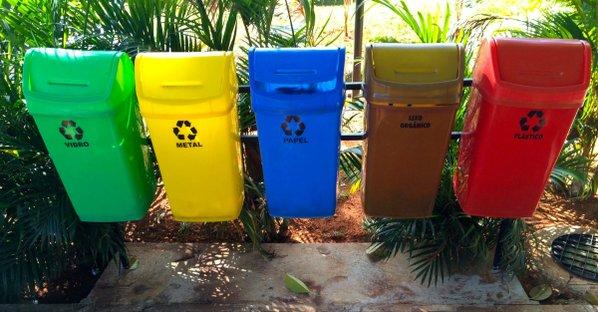 Caixotes de reciclagem em Kamikatsu