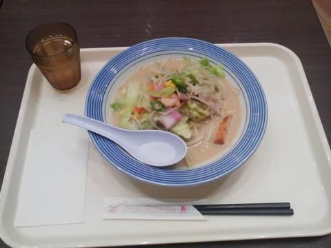 ミドルちゃんぽん¥550 リンガーハットカラフルタウン岐阜店
