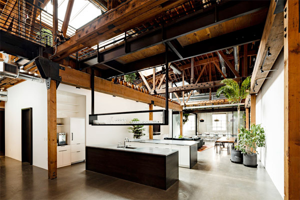Warehouse Turned Into A Loft Office Interior Design Ideas, Inpirations And  Architecture .