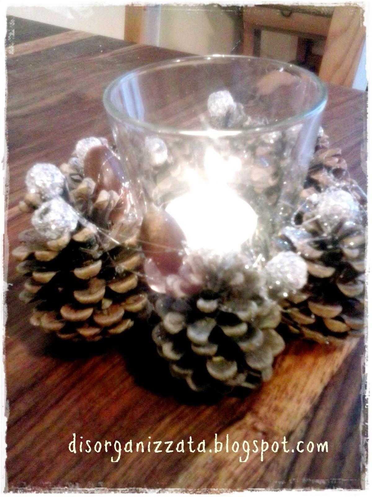 Preferenza DISORGANIZZATA: Decorazioni di Natale: il portacandela XF64