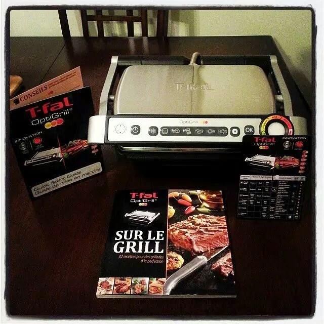 Cuisiner avec le Optigrill de T-Fal... C'est l'outil à avoir en cuisine!