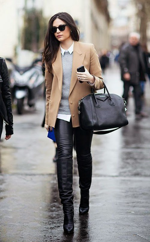 winter cool street style fashion