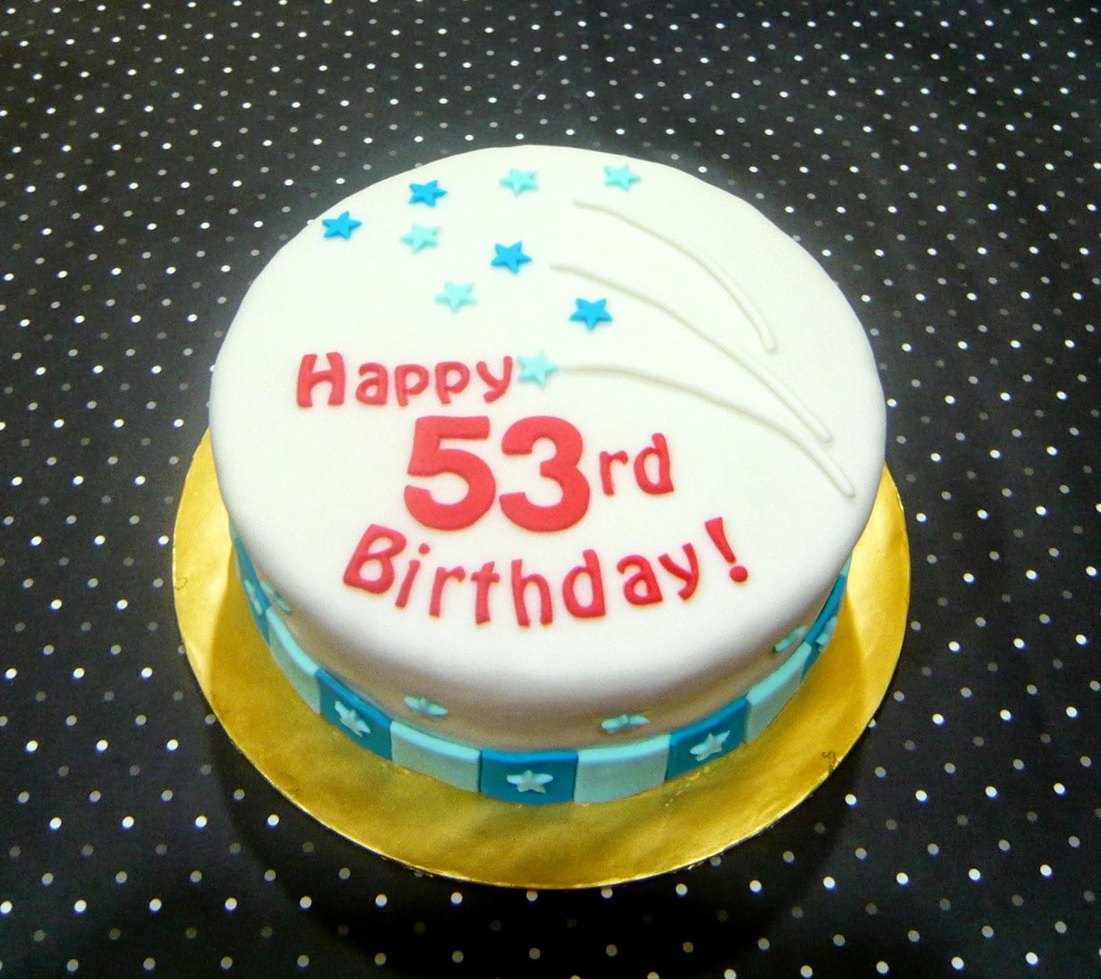 Happy Rd Birthday Cake