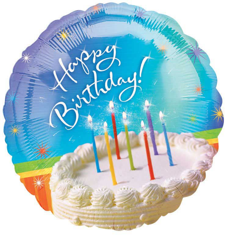 Birthday greeting card images