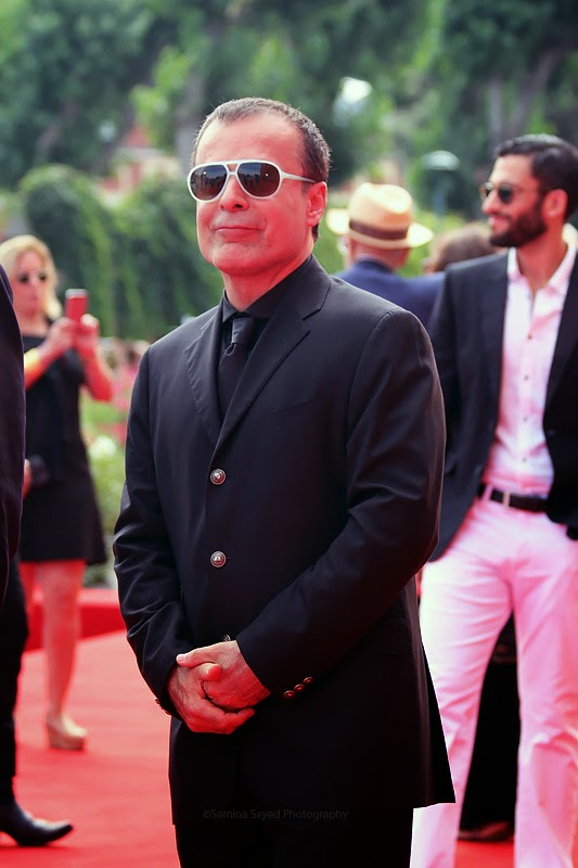 Bahman Ghobadi red carpet Venezia 71