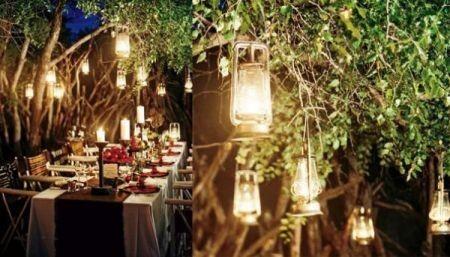 Lanterne Da Giardino Fai Da Te : Il giardino del brocante lanterne fai da te con i vasetti della