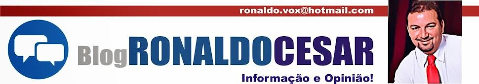 BLOG DO RONALDO CESAR -  GARANHUNS - PERNAMBUCO - BRASIL