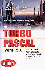 toko buku rahma: buku TURBO PASCAL VERSI 5.0 JILID 1, pengarang jogiyanto, penerbit andi