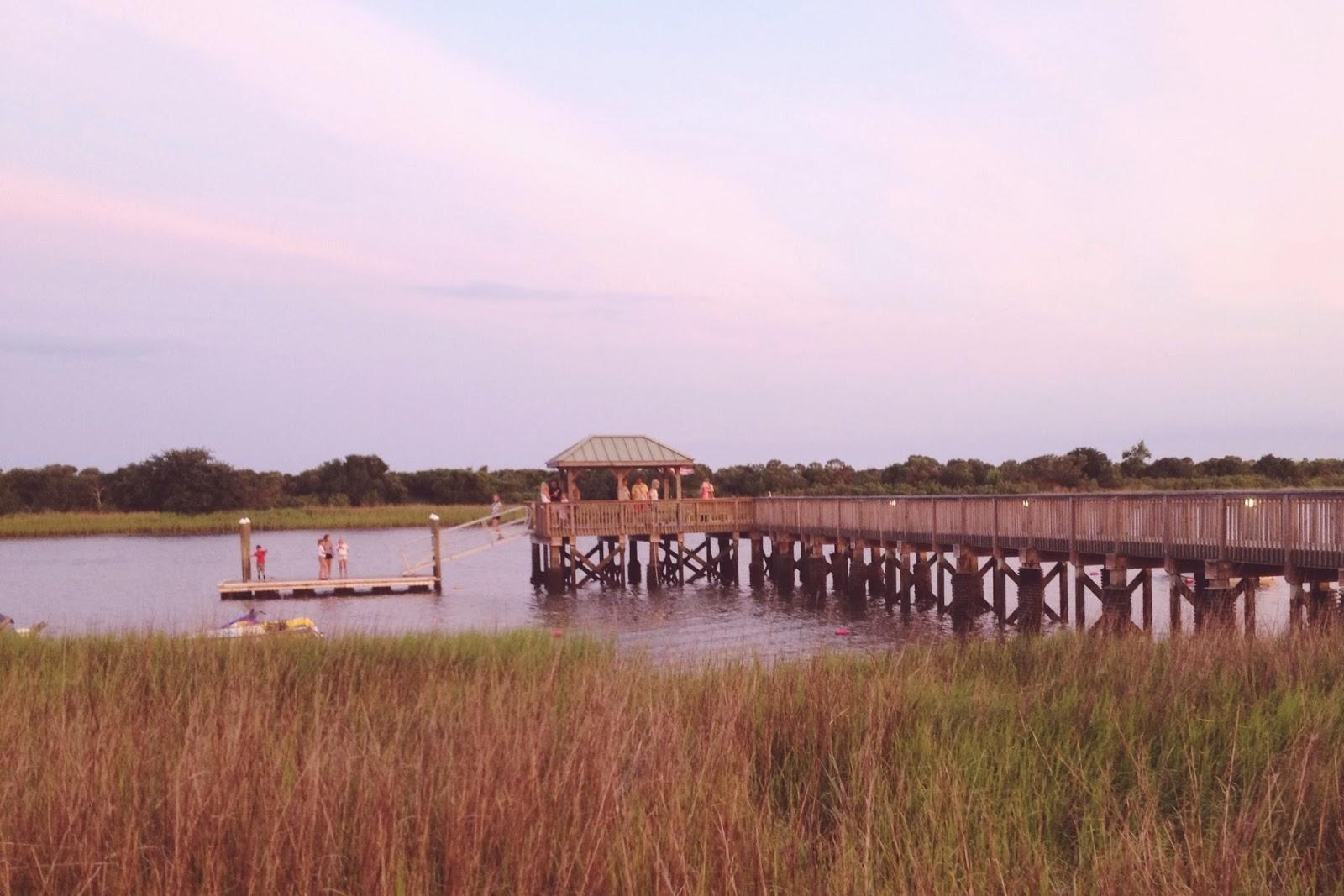 Ocean Isle, waterway, dock