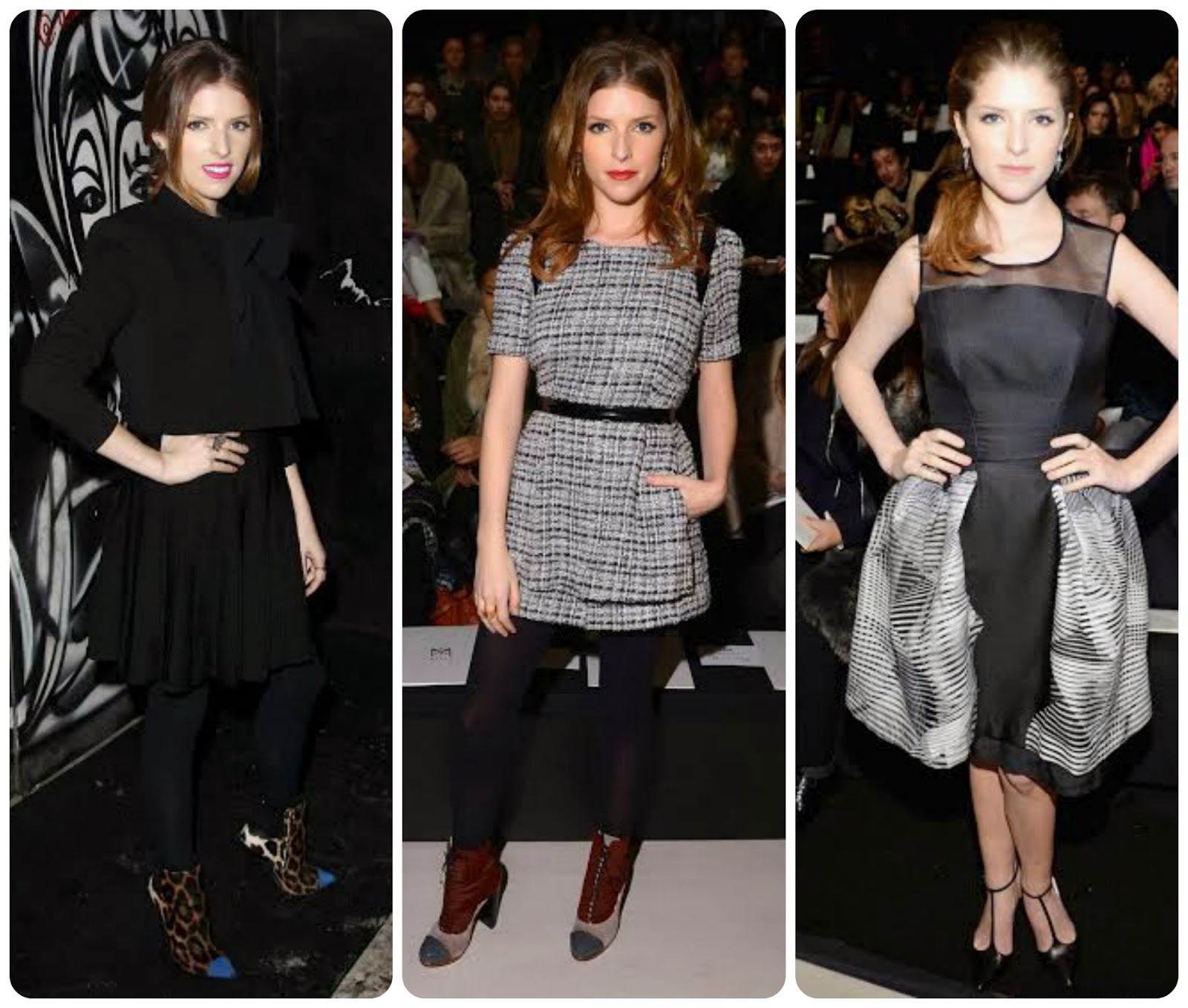 Anna Kendrick - Mercedes-Benz Fashion Week Fall 2014 Carolina Herrera, Milly by Michelle Smith and Alicie+Olivia