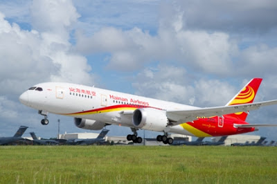 Hainan Airlines is the latest Chinese carrier to operate a Boeing 787 Dreamliner